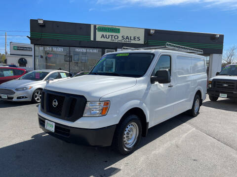2012 Nissan NV Cargo for sale at Wakefield Auto Sales of Main Street Inc. in Wakefield MA