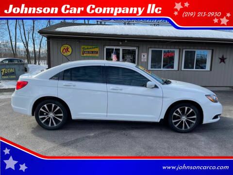 2014 Chrysler 200 for sale at Johnson Car Company llc in Crown Point IN