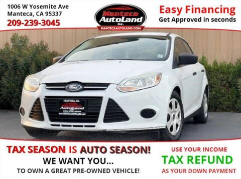 2013 Ford Focus for sale at Manteca Auto Land in Manteca CA