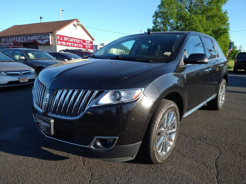 2013 Lincoln MKX for sale at P J McCafferty Inc in Langhorne PA
