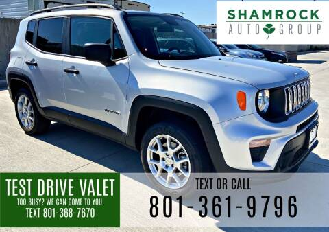 2020 Jeep Renegade for sale at Shamrock Group LLC #1 in Pleasant Grove UT