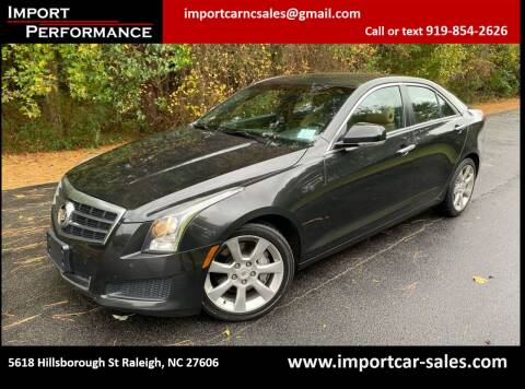 2014 Cadillac ATS for sale at Import Performance Sales in Raleigh NC