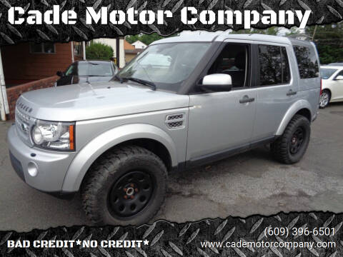 2012 Land Rover LR4 for sale at Cade Motor Company in Lawrenceville NJ