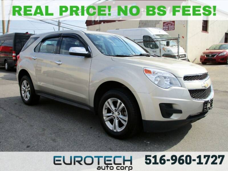 2013 Chevrolet Equinox for sale at EUROTECH AUTO CORP in Island Park NY