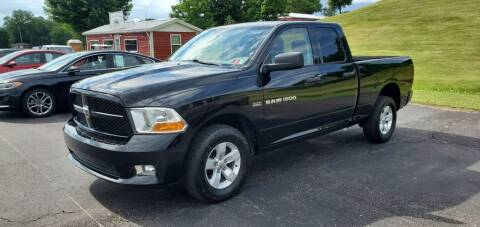 2012 RAM Ram Pickup 1500 for sale at Gallia Auto Sales in Bidwell OH
