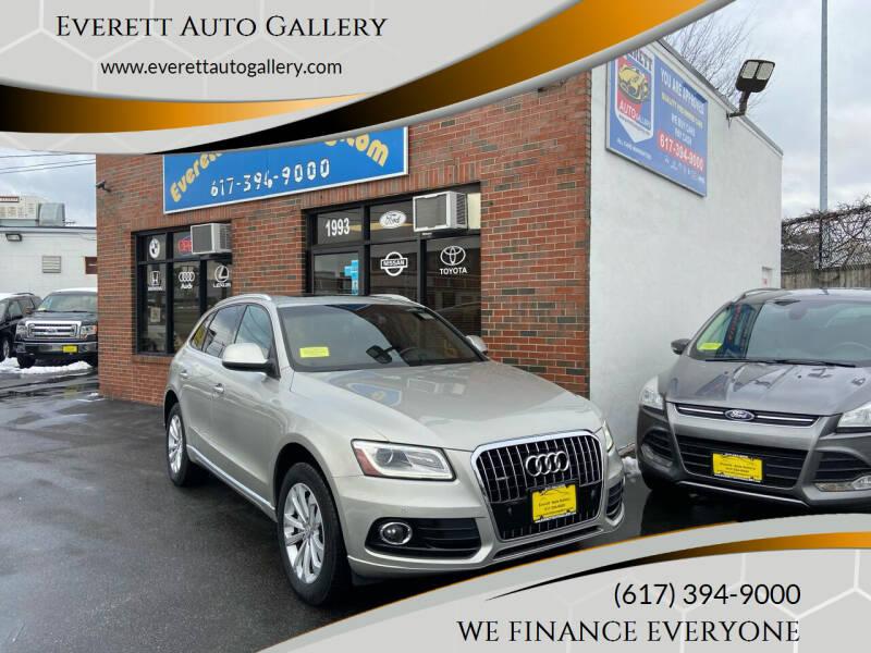2015 Audi Q5 for sale at Everett Auto Gallery in Everett MA