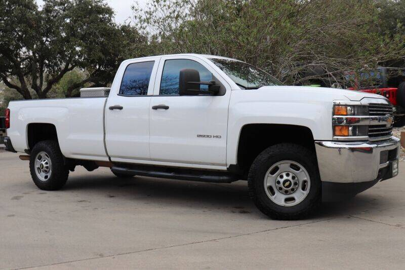 2015 Chevrolet Silverado 2500HD for sale at SELECT JEEPS INC in League City TX