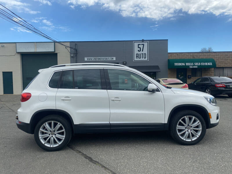 2012 Volkswagen Tiguan for sale at 57 AUTO in Feeding Hills MA