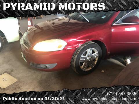 2011 Chevrolet Impala for sale at PYRAMID MOTORS - Pueblo Lot in Pueblo CO