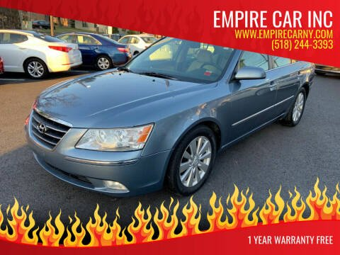 2009 Hyundai Sonata for sale at EMPIRE CAR INC in Troy NY