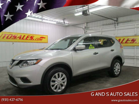 2016 Nissan Rogue for sale at G and S Auto Sales in Ardmore TN