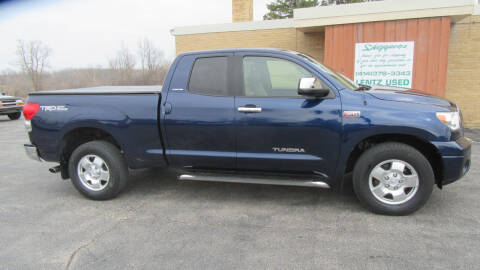 2007 Toyota Tundra for sale at LENTZ USED VEHICLES INC in Waldo WI