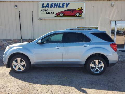 2014 Chevrolet Equinox for sale at Lashley Auto Sales in Mitchell NE