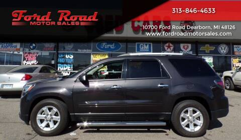 2016 GMC Acadia for sale at Ford Road Motor Sales in Dearborn MI