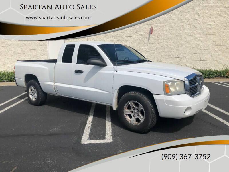 2007 Dodge Dakota for sale at Spartan Auto Sales in Upland CA
