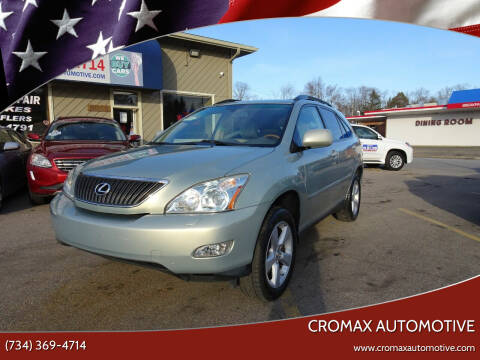 2007 Lexus RX 350 for sale at Cromax Automotive in Ann Arbor MI