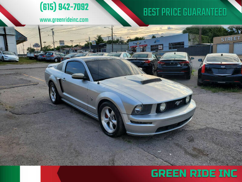 2009 Ford Mustang for sale at Green Ride Inc in Nashville TN