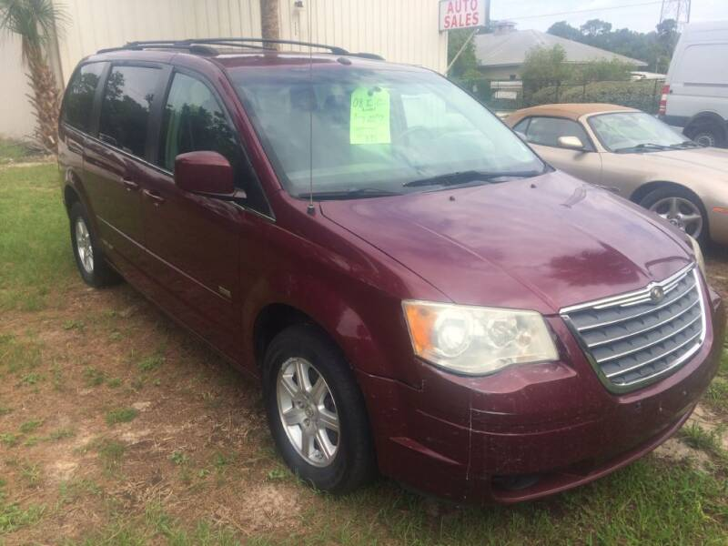 2008 Chrysler Town and Country for sale at Westfall Auto Sales in Cadiz OH