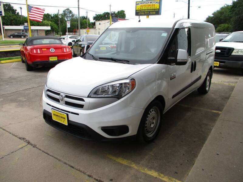 2017 RAM ProMaster City Wagon for sale at Metroplex Motors Inc. in Houston TX