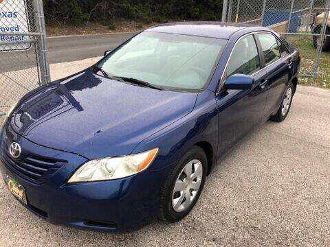 2009 Toyota Camry for sale at Central Automotive in Kerrville TX