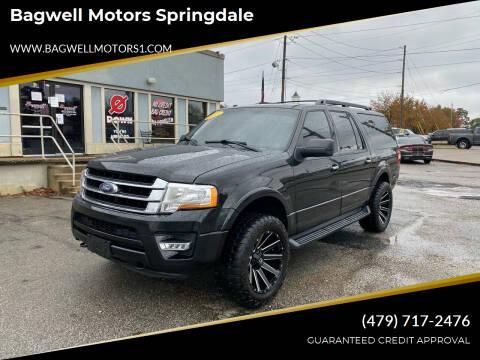 2015 Ford Expedition EL for sale at Bagwell Motors Springdale in Springdale AR