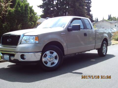 2008 Ford F-150 for sale at Redline Auto Sales in Vancouver WA