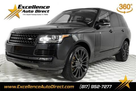 2013 Land Rover Range Rover for sale at Excellence Auto Direct in Euless TX