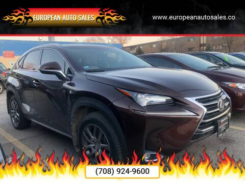 2016 Lexus NX 200t for sale at European Auto Sales in Bridgeview IL