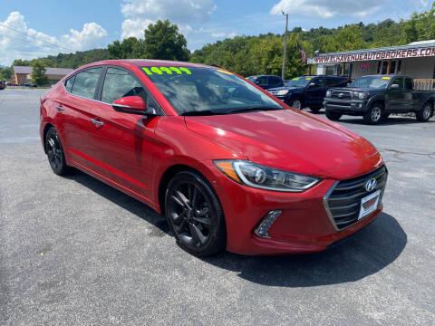 2017 Hyundai Elantra for sale at Elk Avenue Auto Brokers in Elizabethton TN