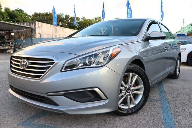 2017 Hyundai Sonata for sale at OCEAN AUTO SALES in Miami FL