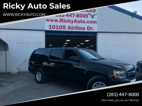 2011 Chevrolet Suburban for sale at Ricky Auto Sales in Houston TX