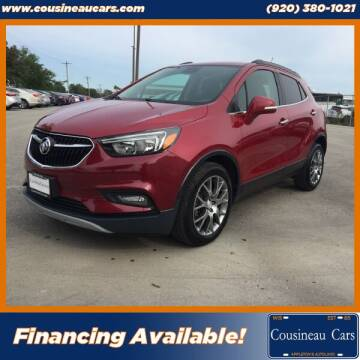 2018 Buick Encore for sale at CousineauCars.com in Appleton WI