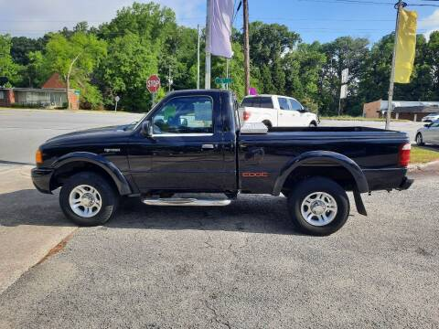 2003 Ford Ranger for sale at PIRATE AUTO SALES in Greenville NC
