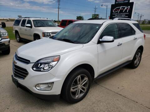 2017 Chevrolet Equinox for sale at CFN Auto Sales in West Fargo ND