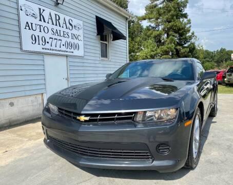 2014 Chevrolet Camaro for sale at Karas Auto Sales Inc. in Sanford NC