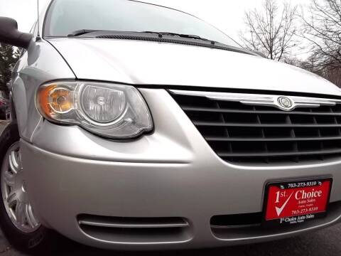 2006 Chrysler Town and Country for sale at 1st Choice Auto Sales in Fairfax VA