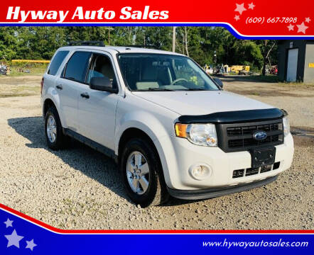 2012 Ford Escape for sale at Hyway Auto Sales in Lumberton NJ