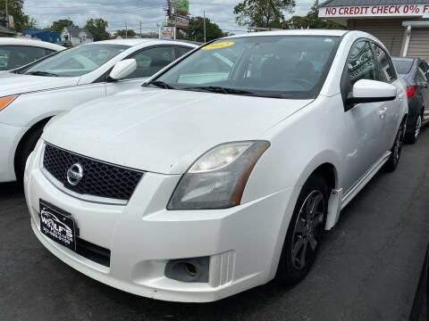 2012 Nissan Sentra for sale at WOLF'S ELITE AUTOS in Wilmington DE