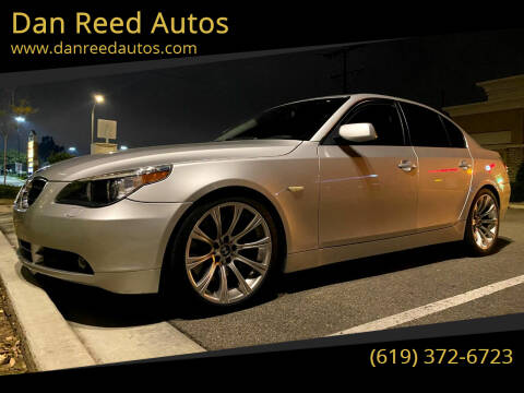 2004 BMW 5 Series for sale at Dan Reed Autos in Escondido CA