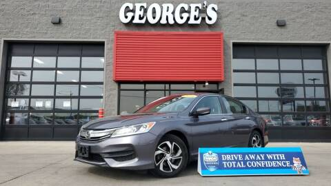 2016 Honda Accord for sale at George's Used Cars - Pennsylvania & Allen in Brownstown MI