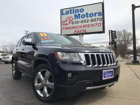 2011 Jeep Grand Cherokee for sale at Latino Motors in Aurora IL