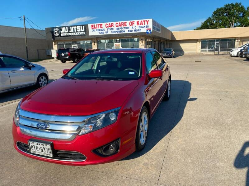 2012 Ford Fusion for sale at Houston Auto Gallery in Katy TX