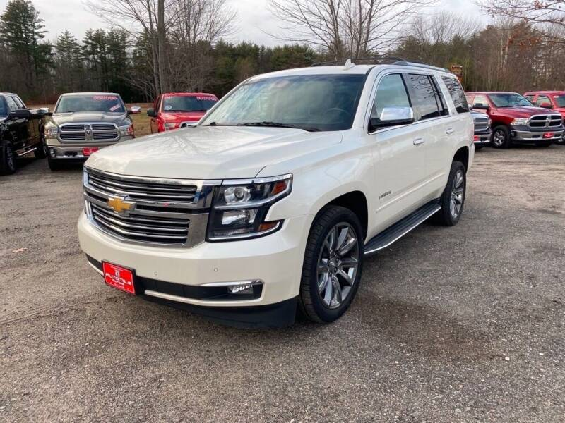 2015 Chevrolet Tahoe for sale at AutoMile Motors in Saco ME