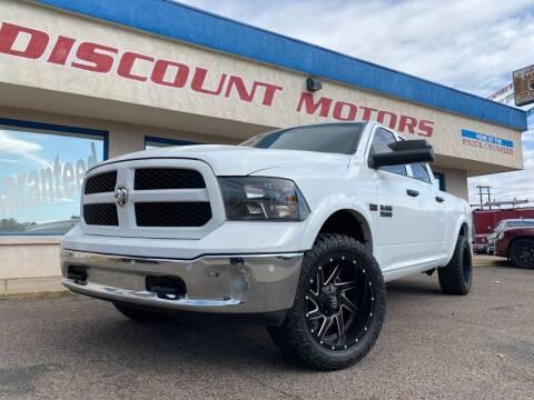 2015 RAM Ram Pickup 1500 for sale at Discount Motors in Pueblo CO
