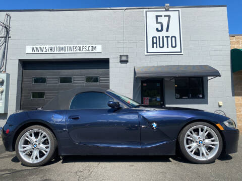 2008 BMW Z4 for sale at 57 AUTO in Feeding Hills MA