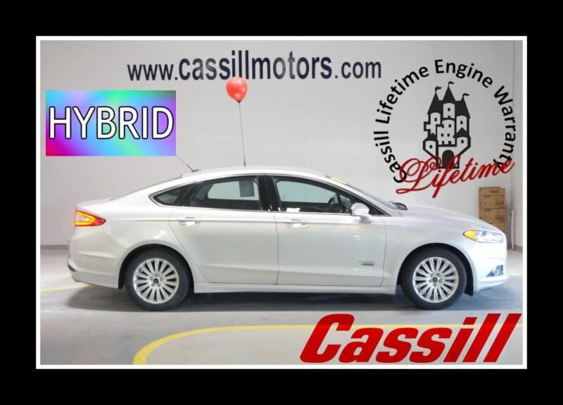 2014 Ford Fusion Energi for sale in Cedar Rapids, IA