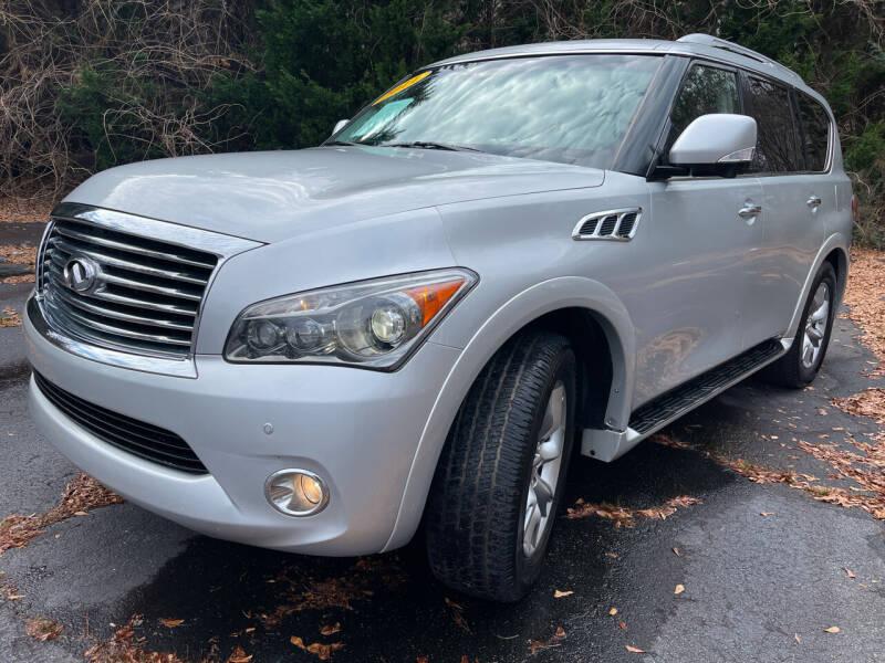 2011 Infiniti QX56 for sale at Peach Auto Sales in Smyrna GA