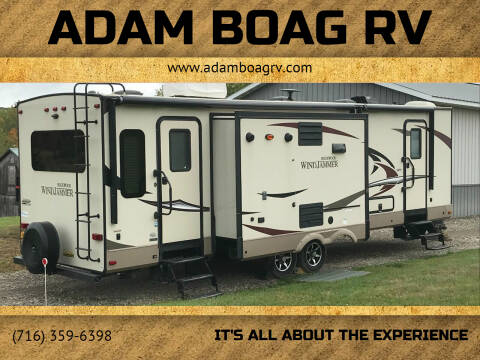 2017 Forest River Windjammer for sale at Adam Boag RV in Hamburg NY