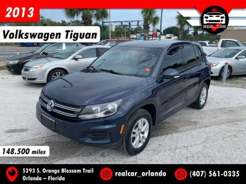 2013 Volkswagen Tiguan for sale at Real Car Sales in Orlando FL