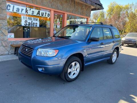 2007 Subaru Forester for sale at Clarks Auto Sales in Salt Lake City UT
